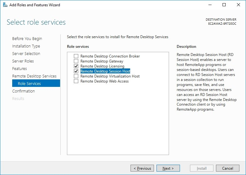 Installing RDP Licensing on a Workgroup (Non-domain) 2016 Server